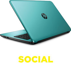 "HP 15-ba077sa 15.6"" Laptop - Teal"