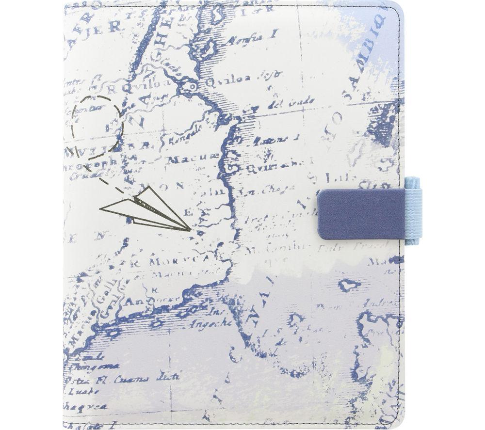 """FILOFAX  830048 8"""" Tablet Case - Retro Map"""