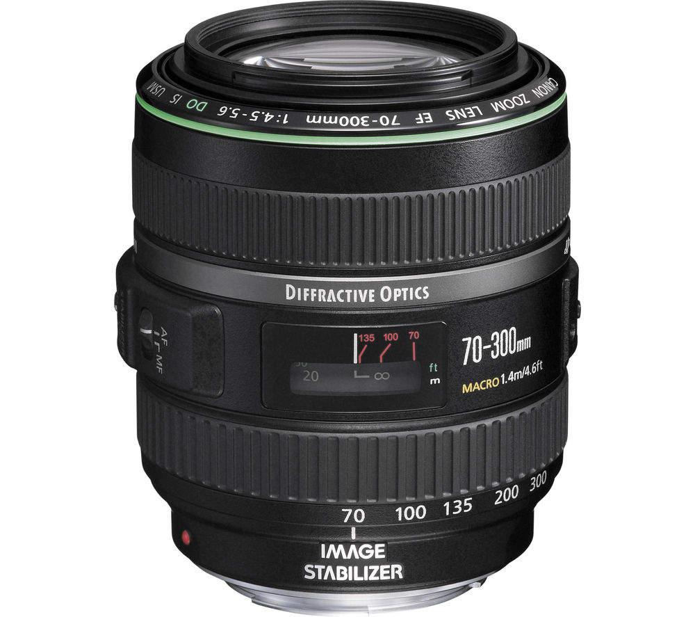CANON EF 70-300 mm f/4.5-5.6 DO IS USM Telephoto Zoom Lens
