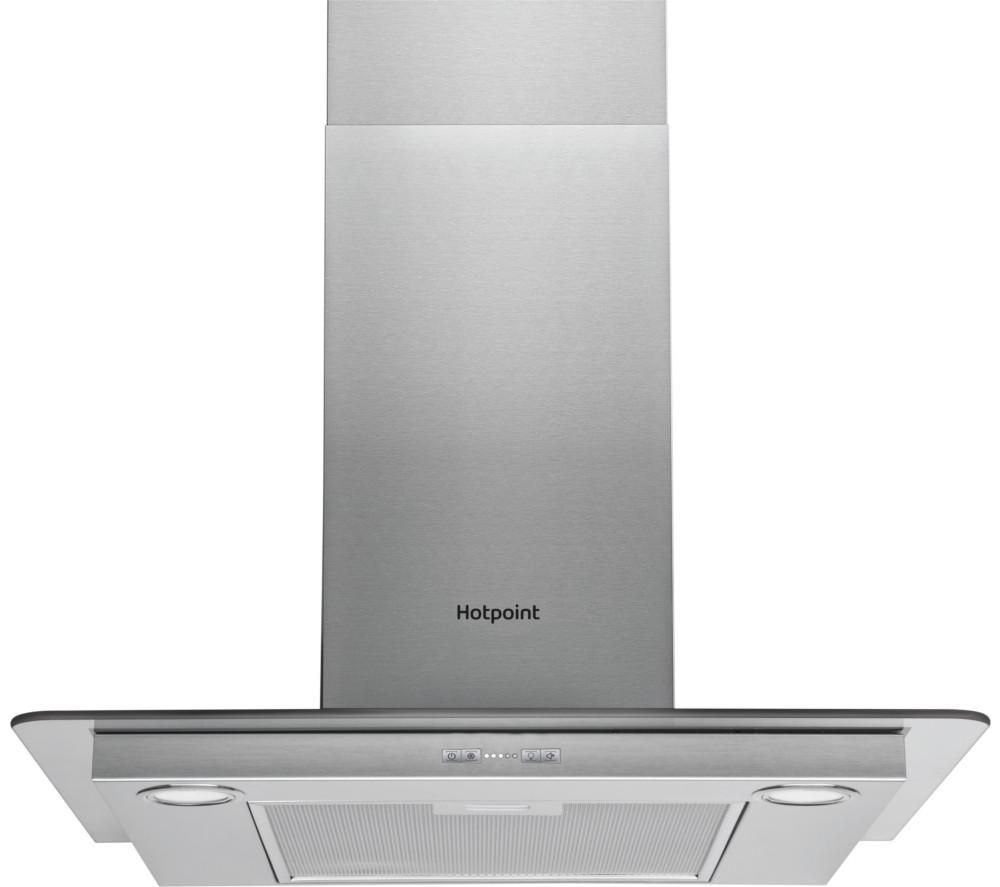 HOTPOINT  PHFG7.5FABX Chimney Cooker Hood  Stainless Steel Stainless Steel