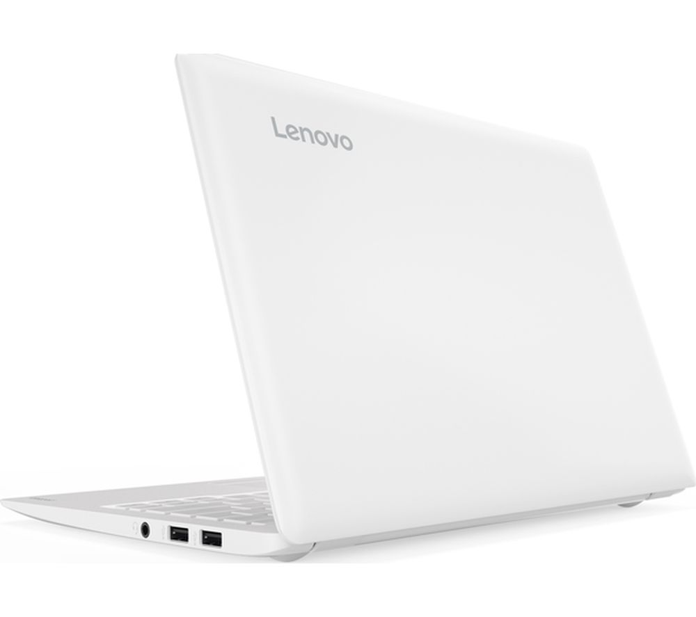 "LENOVO Ideapad 110S-11IBR 11.6"" Laptop - White + Office 365 Home + LiveSafe Unlimited 2017 - 1 year"