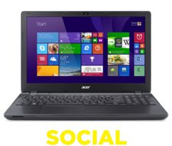 "ACER Aspire E5-573-32TV 15.6"" Laptop - Black"