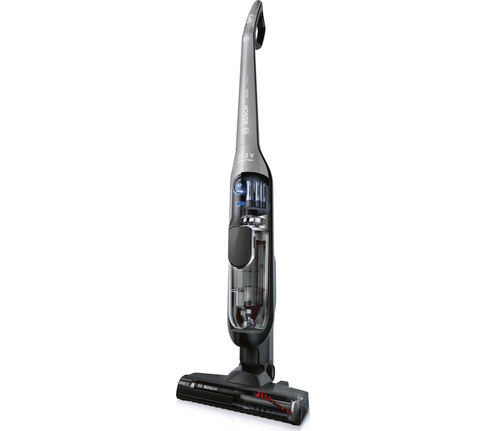 Image of BOSCH Athlet Power BBH65KITGB Cordless Vacuum Cleaner - Silver, Silver