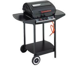 LANDMANN Grill Chef 12375 Dual Burner Grill Gas BBQ - Black