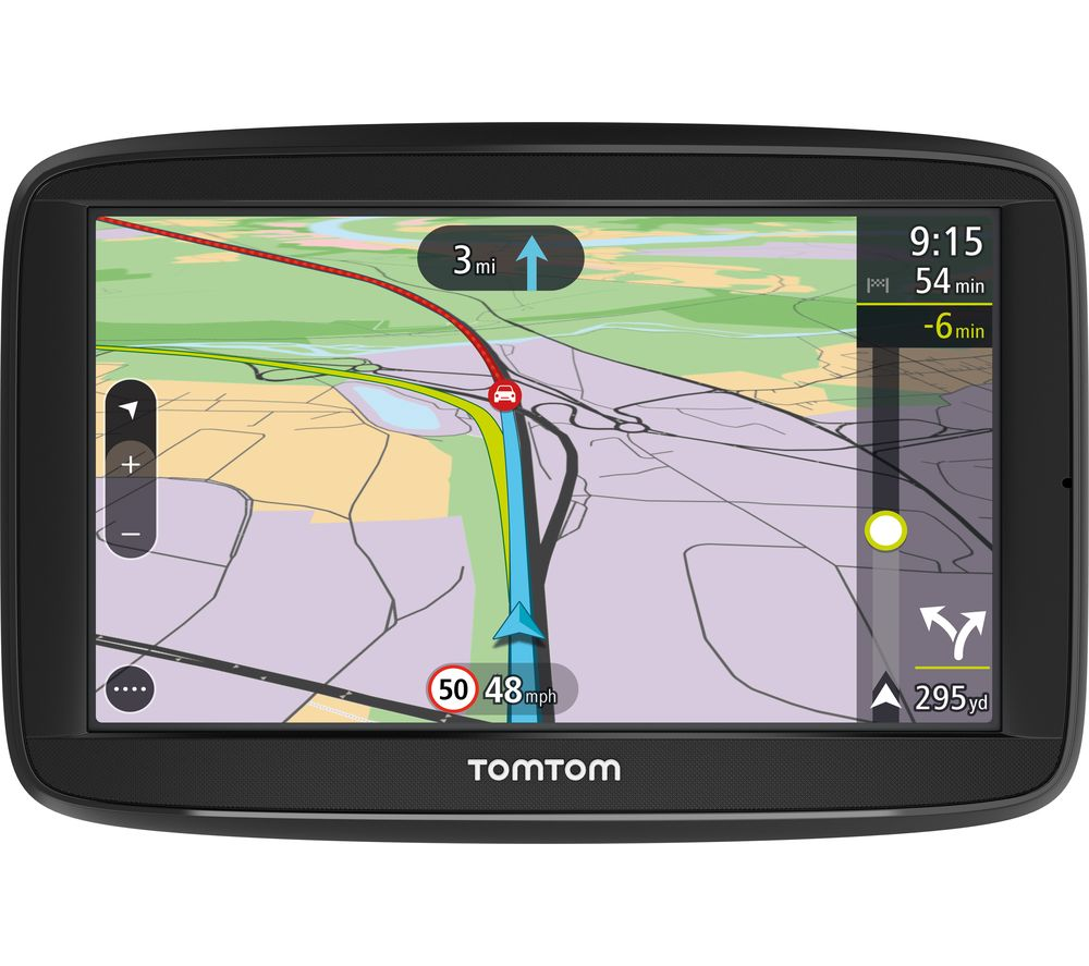 Tomtom Via   Sat Nav Full Europe Maps