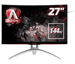 "AOC AG272FCX Full HD 27"" Curved LCD Monitor - Black"