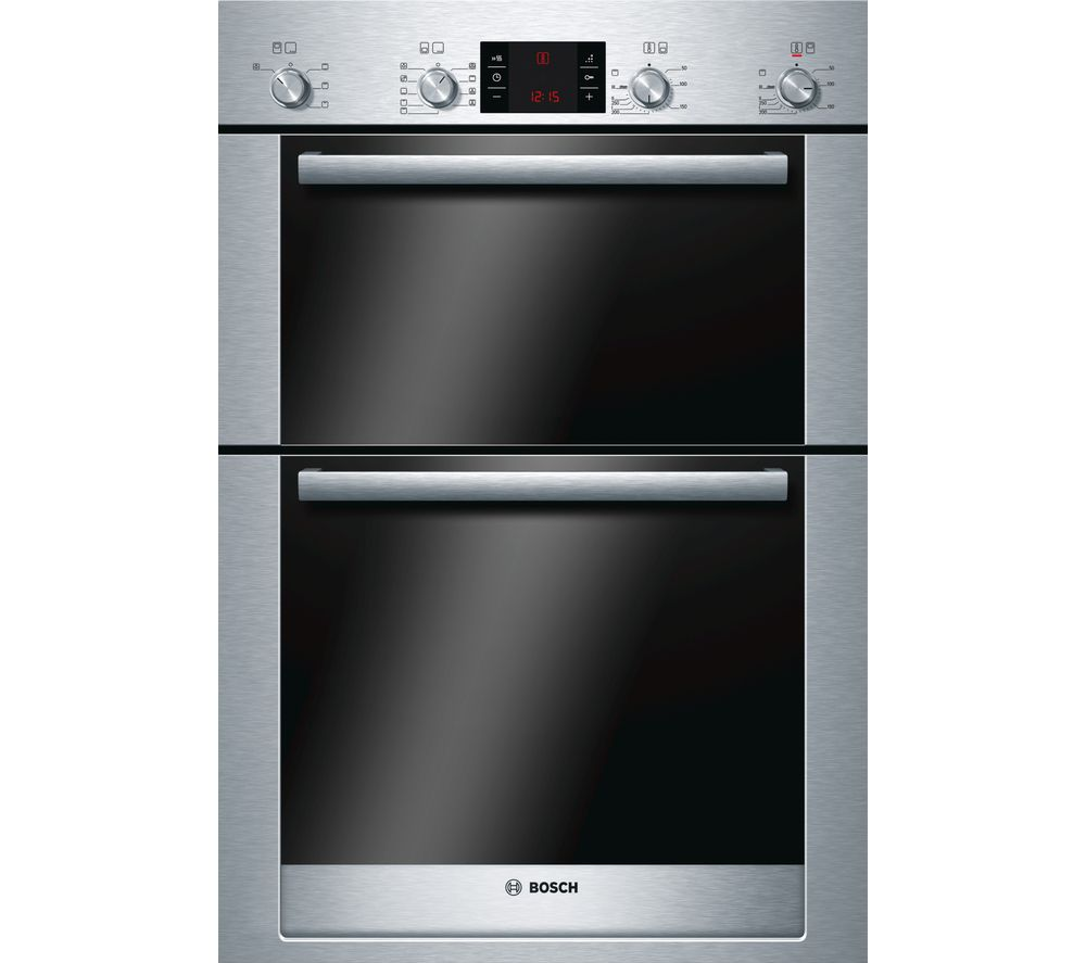 BOSCH Exxcel HBM53R550B Electric Double Oven - Stainless Steel