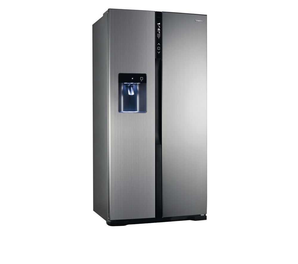 PANASONIC NR-B53V2-XB American-Style Fridge Freezer - Stainless Steel
