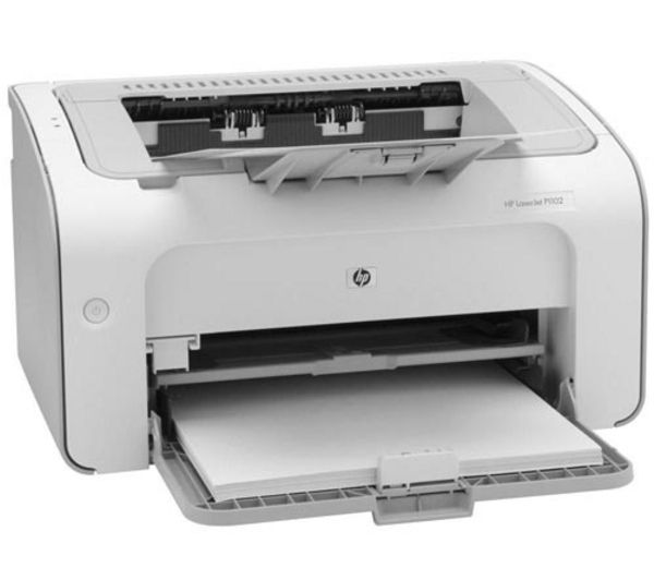 hp laserjet pro p1102 monochrome laser printer deals pc world. Black Bedroom Furniture Sets. Home Design Ideas
