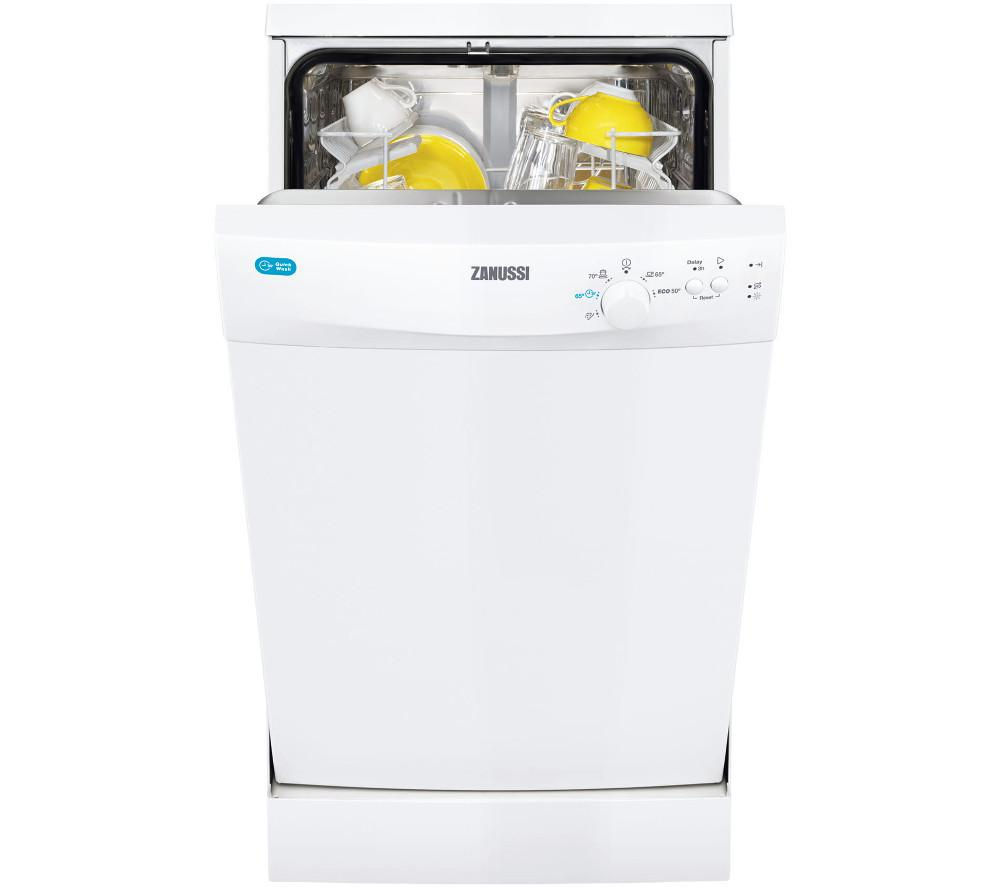 ZANUSSI ZDS12001WA Slimline Dishwasher - White
