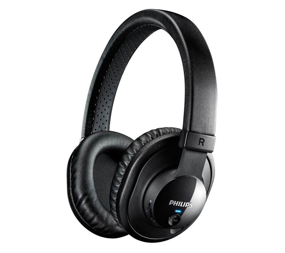 philips shb7150 wireless bluetooth headphones black deals pc world. Black Bedroom Furniture Sets. Home Design Ideas