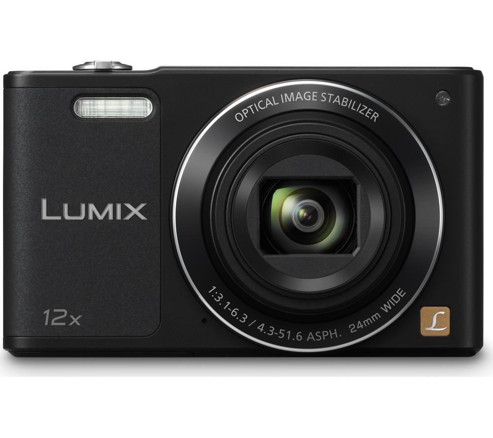 PANASONIC Lumix DMC-SZ10EB-K Compact Camera - Black