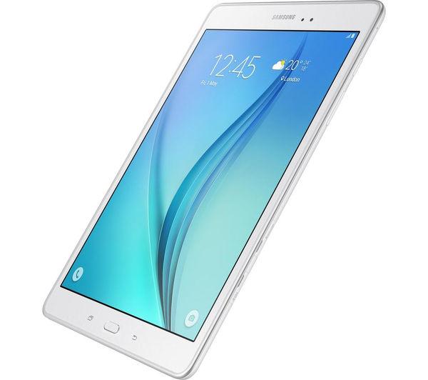 samsung galaxy tab a 9 7 4g tablet 16 gb white deals. Black Bedroom Furniture Sets. Home Design Ideas