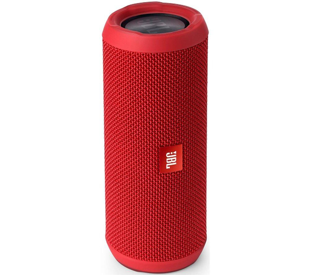 Click to view more of JBL  Flip 3 Portable Wireless Speaker - Red, Red