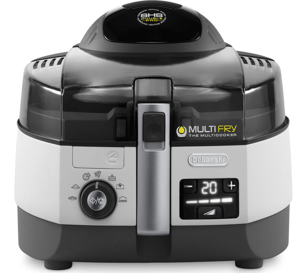 DELONGHI Multifry FH1364 Fryer - White & Black