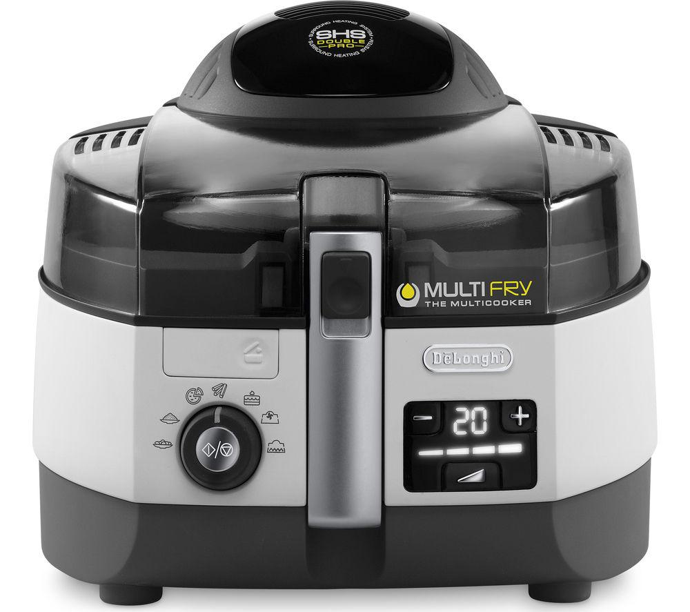 DELONGHI  Multifry FH1364 Fryer - White & Black, White