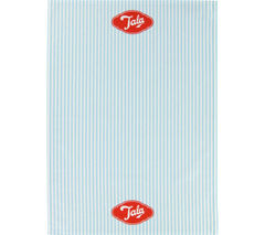 TALA Originals Tea Towel - Blue Candy Stripes