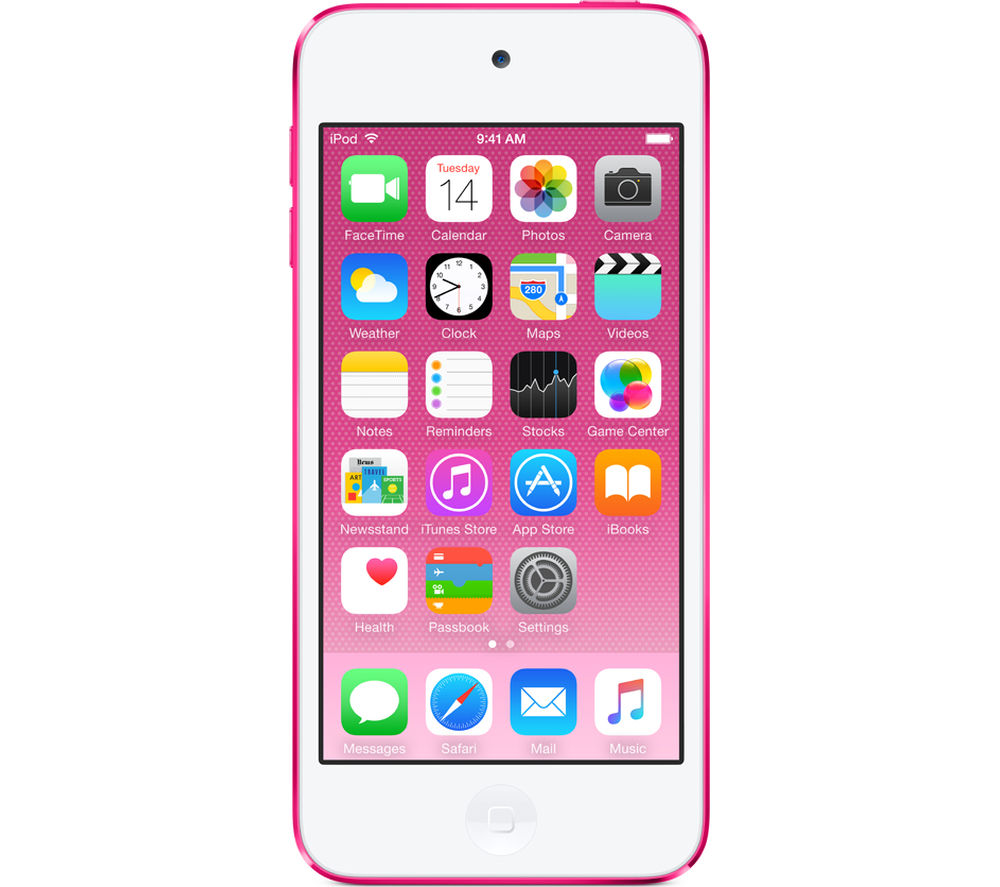 buy apple ipod touch 64 gb 6th generation pink free delivery currys. Black Bedroom Furniture Sets. Home Design Ideas