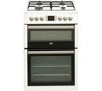 BEKO Select BDVG675NTW 60 cm Gas Cooker - White