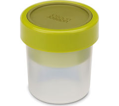 JOSEPH JOSEPH Go Eat Compact 2-in-1 Snack Pot