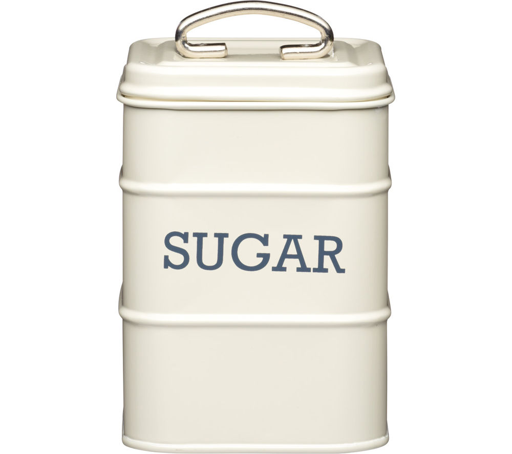 KITCHEN CRAFT Living Nostalgia Vintage Sugar Canister - Cream