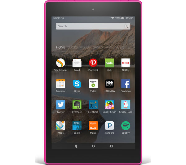 "Image of AMAZON Fire HD 8"" Tablet - 8 GB, Purple"