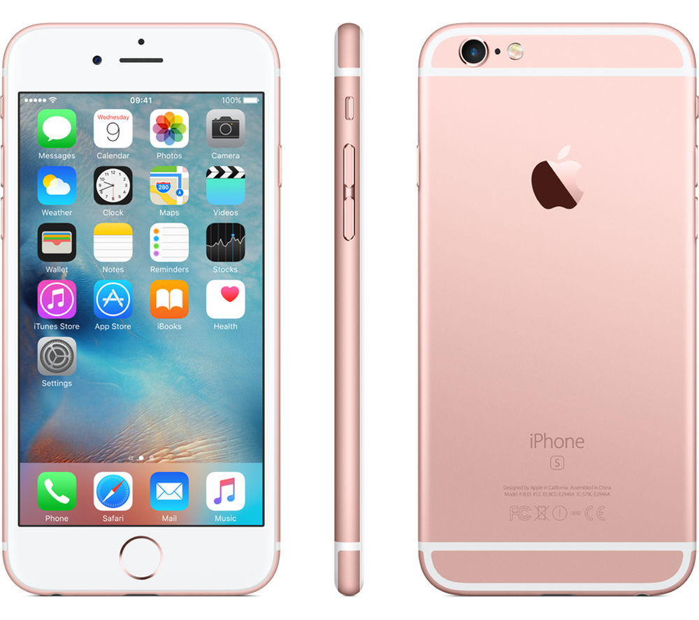Apple iPhone 6s - 64GB (Rose Gold)
