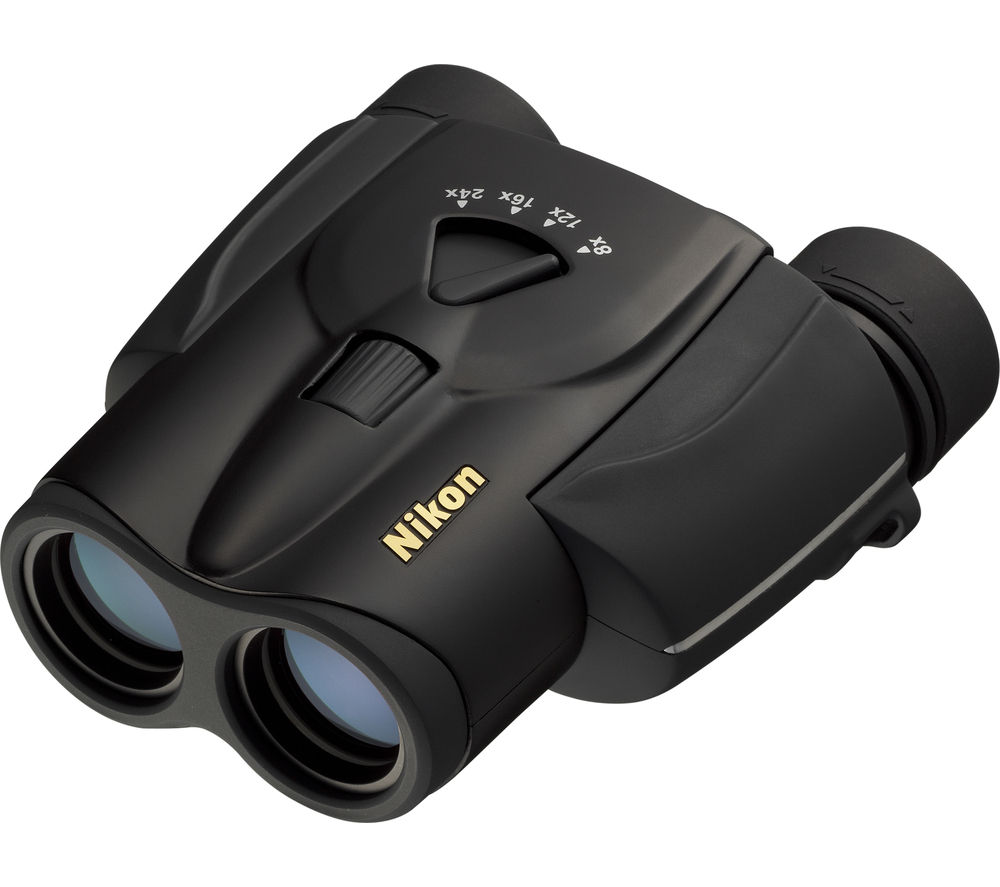 NIKON Aculon T11 8-24 x 25 mm Binoculars - Black