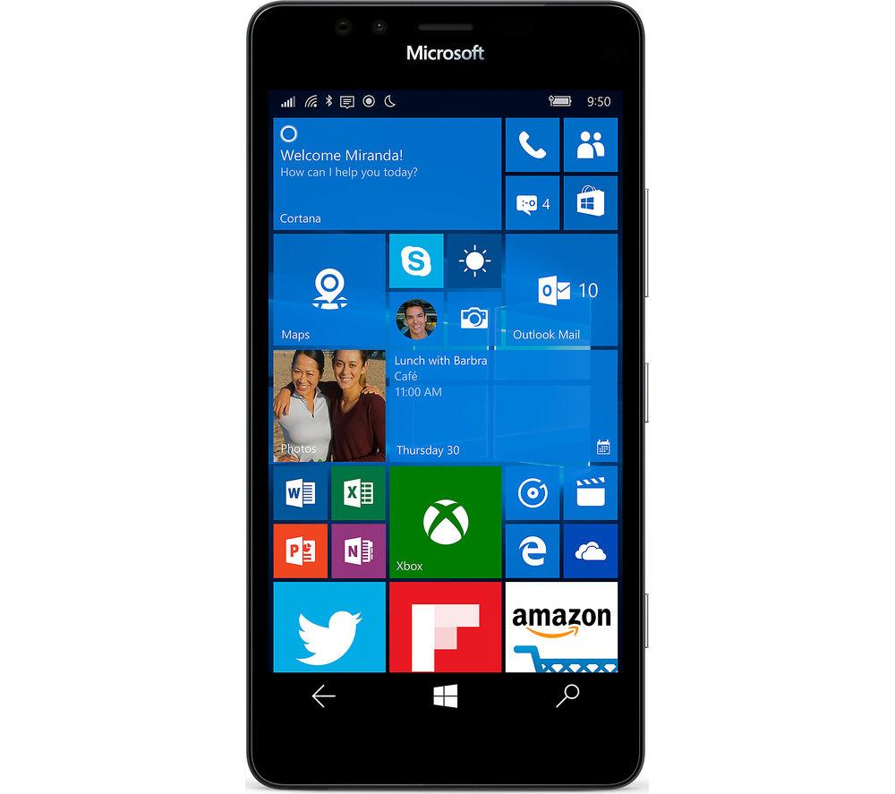 MICROSOFT Lumia 950 - 32 GB, Black