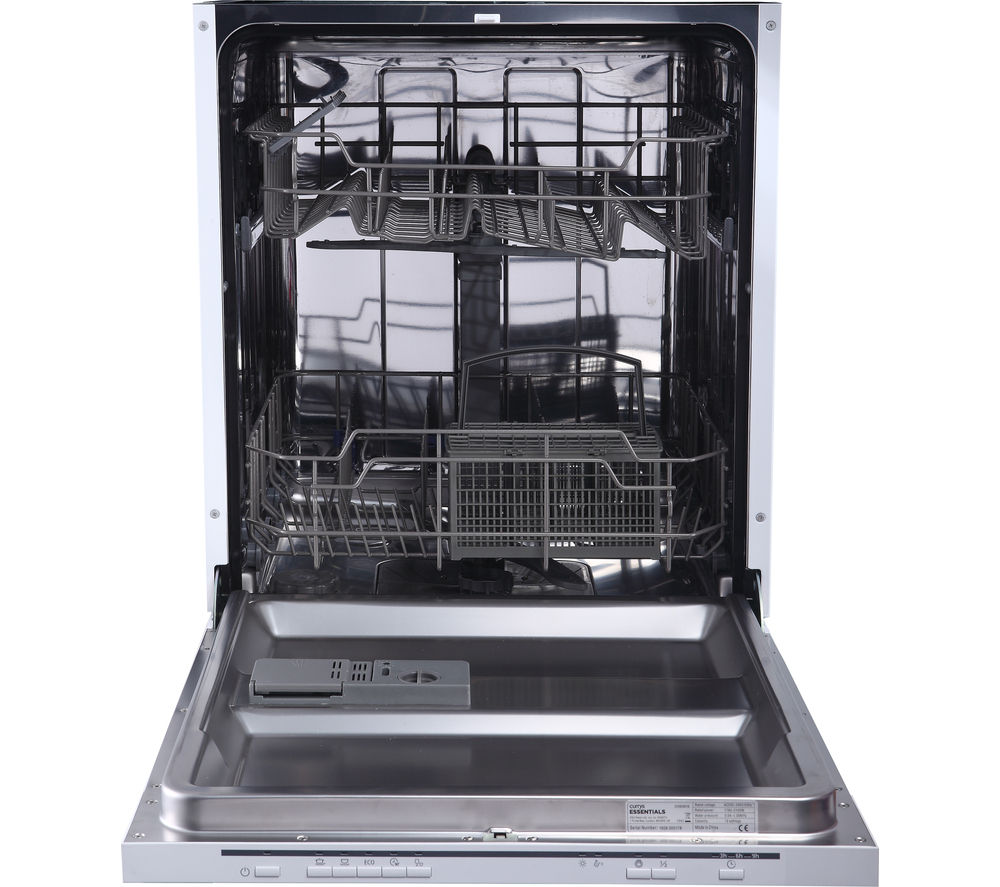 Buy Essentials Cid60w16 Full Size Integrated Dishwasher