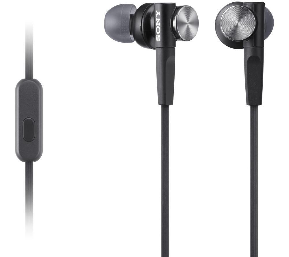 SONY MDR-XB50APB Headphones - Black