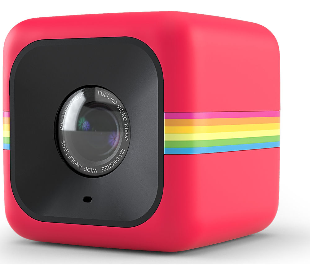 POLAROID Cube+ Action Camcorder - Red