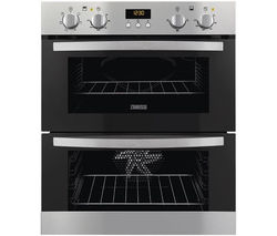 ZANUSSI ZOE35511XK Electric Built-under Double Oven - Stainless Steel