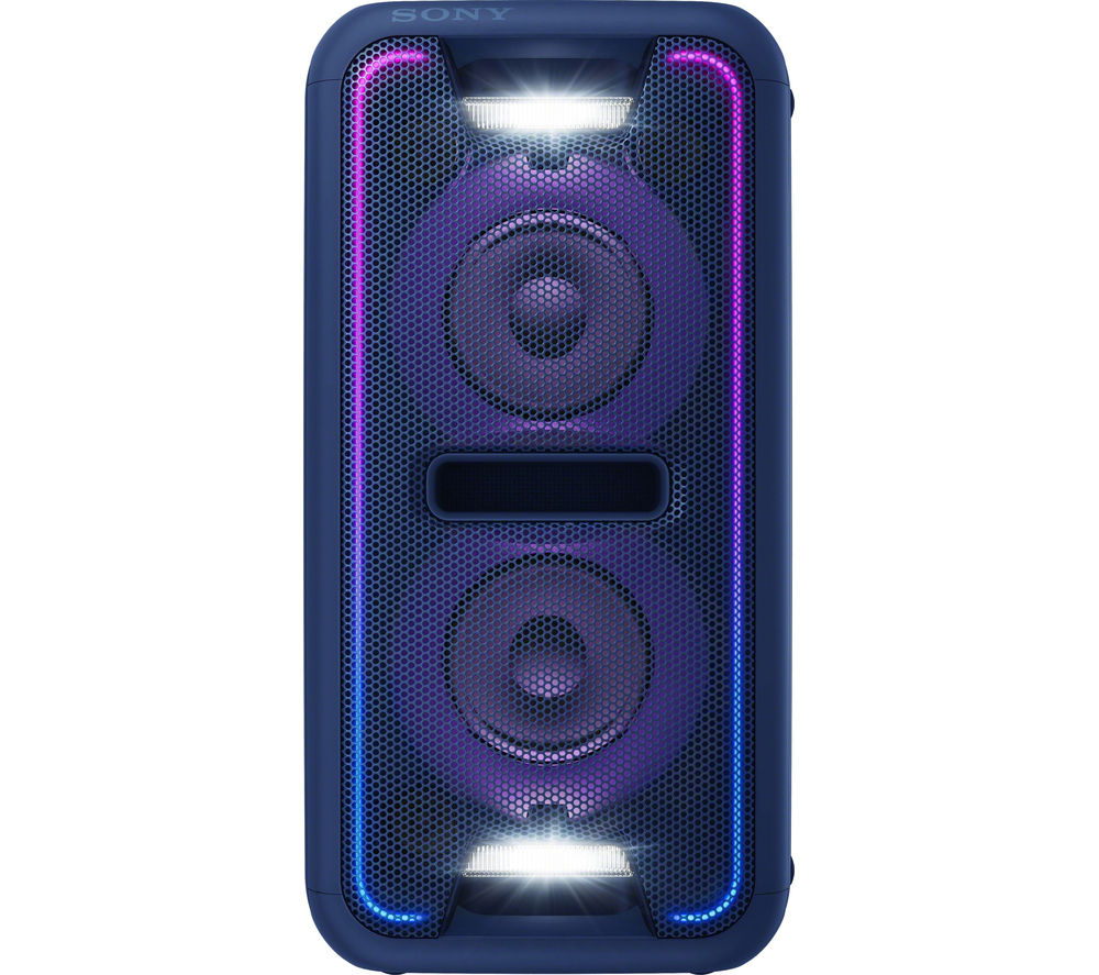 Click to view more of SONY  GTK-XB7L Wireless Megasound Hi-Fi System - Blue, Blue