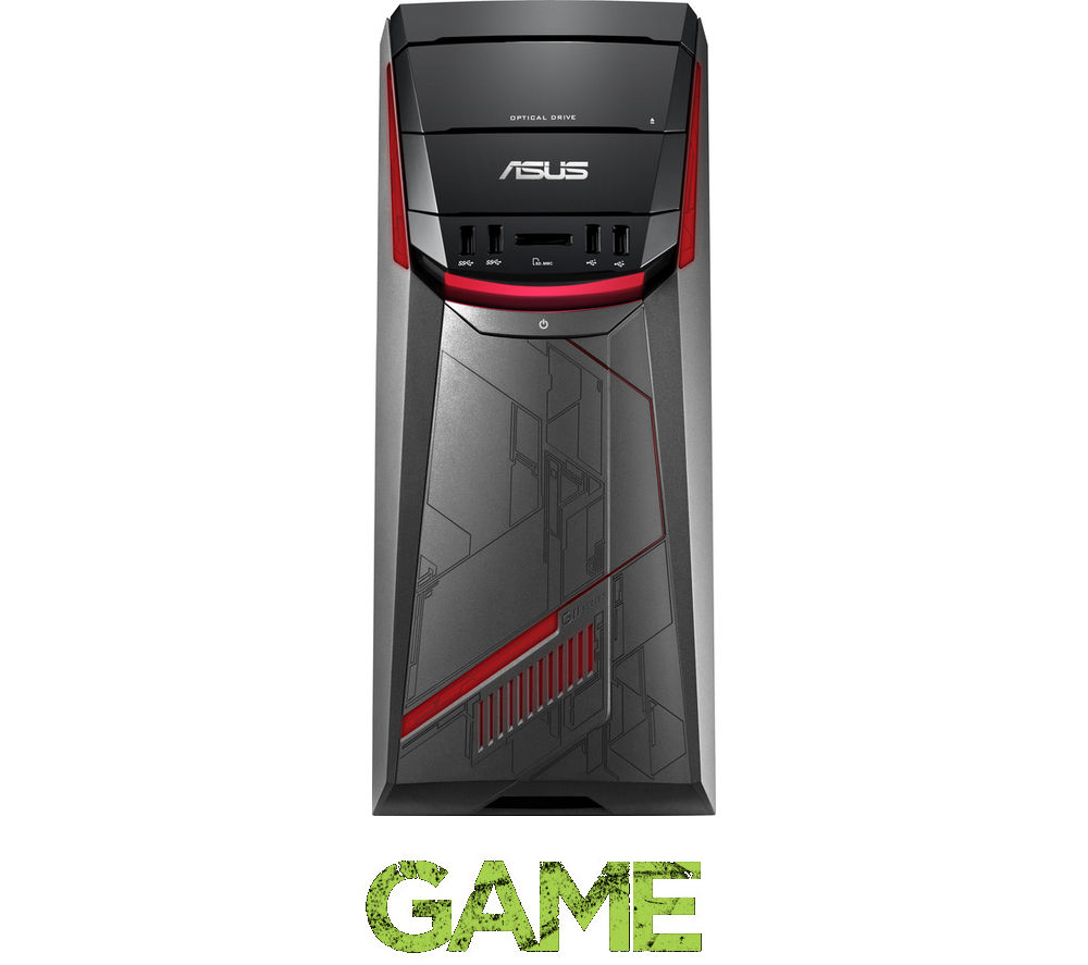 buy asus g11cd gaming pc free delivery currys. Black Bedroom Furniture Sets. Home Design Ideas