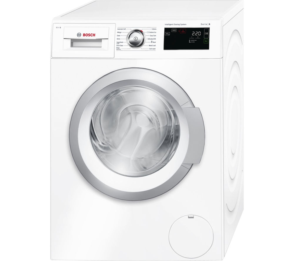 buy bosch serie 6 i dos wat28660gb washing machine white free delivery currys. Black Bedroom Furniture Sets. Home Design Ideas