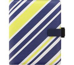 """FILOFAX iPad Mini & Galaxy Tab S2 8"""" Tablet Case - Stripes"""