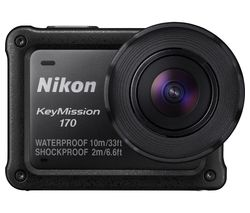 NIKON KeyMission 170 Action Camcorder - Black