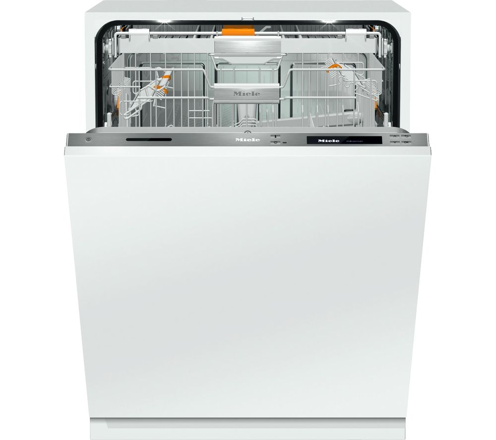 MIELE  G6997SCVi Integrated Dishwasher - Stainless Steel, Stainless Steel