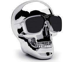 JARRE AeroSkull XS + Portable Wireless Speaker - Silver