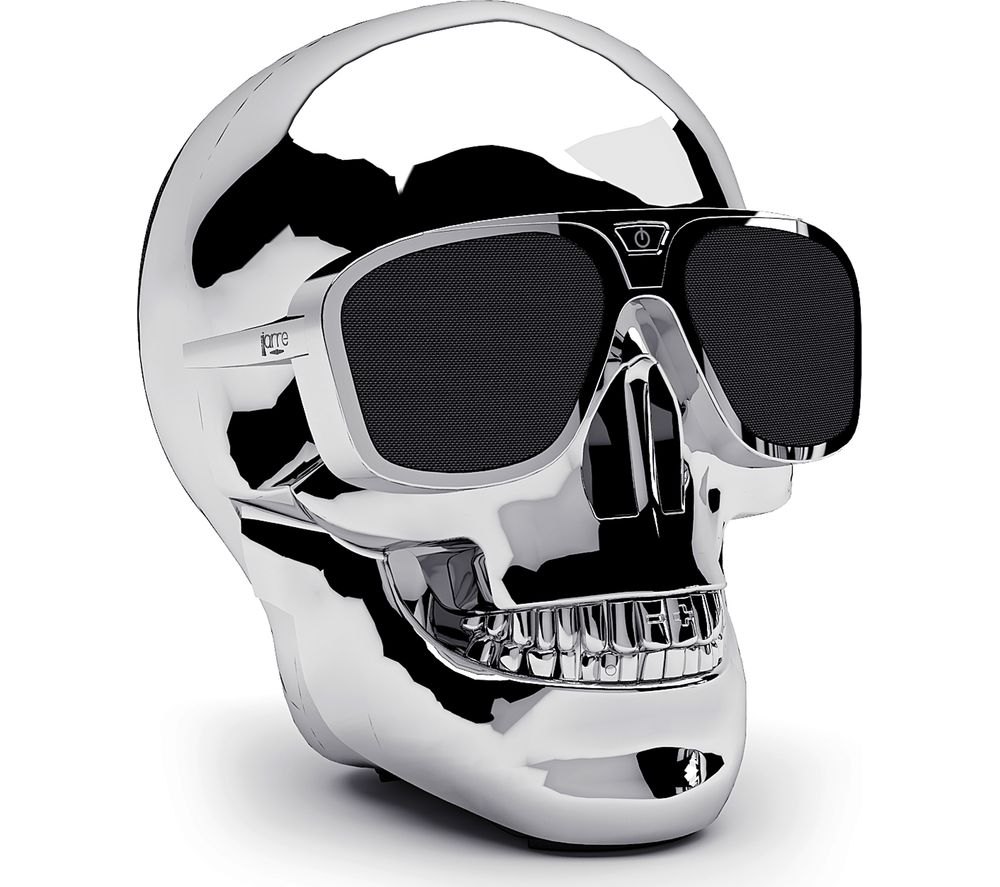 JARRE AeroSkull XS + Portable Wireless Speaker - Silver