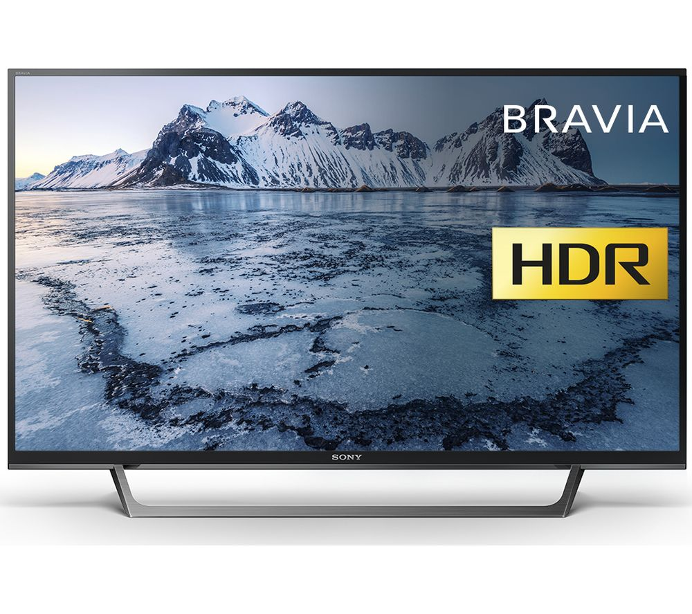 "SONY BRAVIA KDL40WE663 40"" Smart HDR LED TV + L2HDINT15 2 m HDMI Cable"