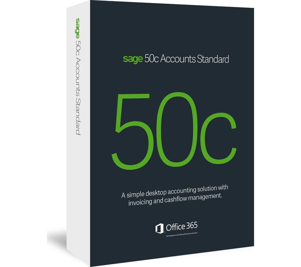 SAGE 50c Accounts Standard