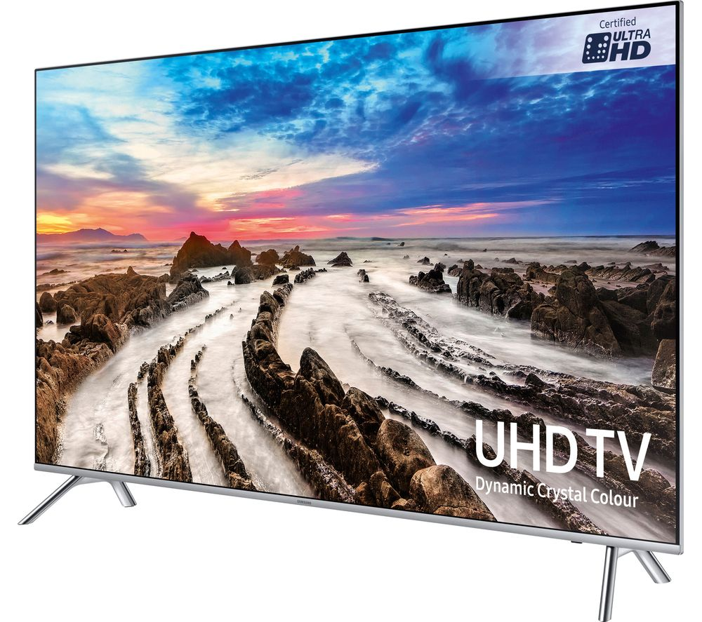 "SAMSUNG UE75MU7000T 75""Smart 4K Ultra HD HDR LED TV + Sound+ HW-MS650 3.0 All-in-One Sound Bar"