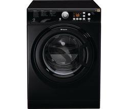 HOTPOINT Aquarius FDF 9640 K 9 kg Washer Dryer - Black