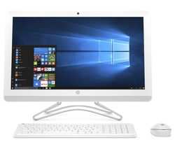 "HP 24-e030na 23.8"" All-in-One PC - White"