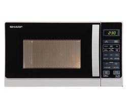 SHARP R662SLM Microwave with Grill - Silver