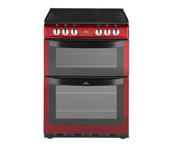 NEW WORLD NW601EDO Electric Cooker - Metallic Red