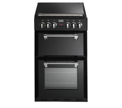 STOVES Richmond 550DFW Dual Fuel Cooker - Black