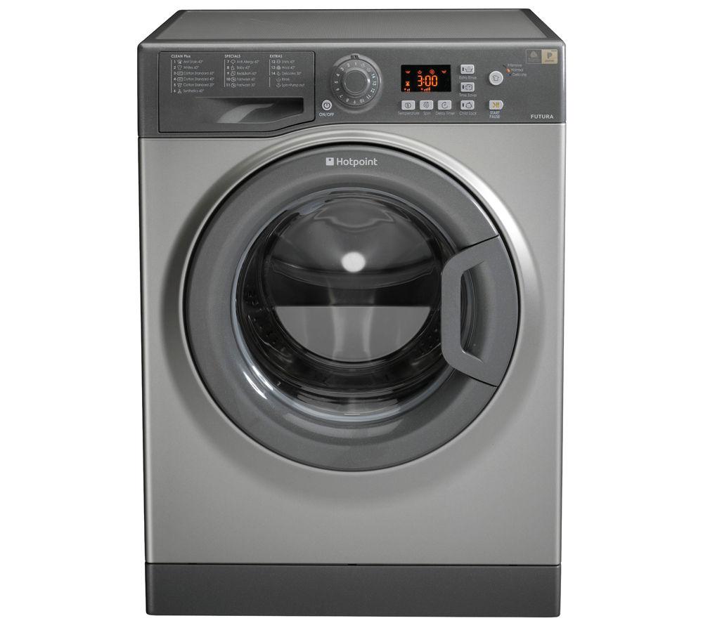 HOTPOINT WMFG 741G Washing Machine - Graphite